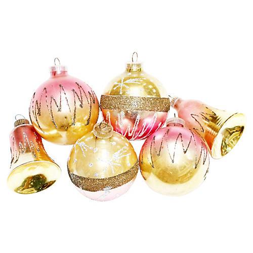 West German Ornaments, S/6