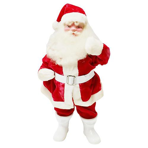 Harold Gayle Velvet Santa