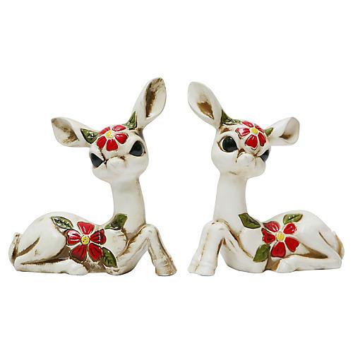 Reindeer Figurines, S/2