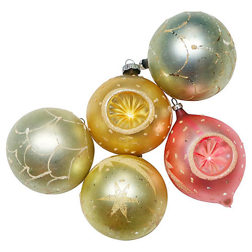 West German Ornaments, S/5
