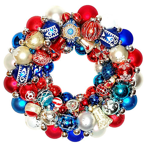 Red, White, & Blue Wreath