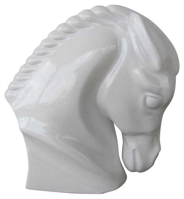 Ceramic Horsehead