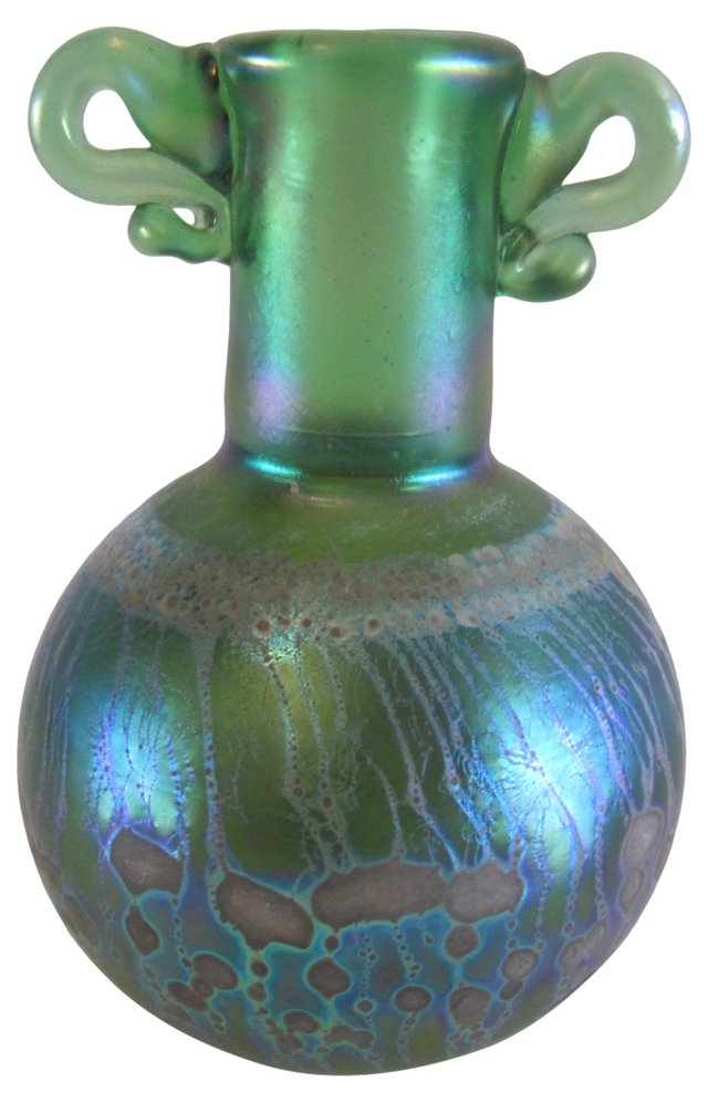 Vase w/ Lustre Glaze
