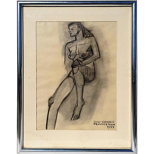 Nude by Emily Farnham, 1949