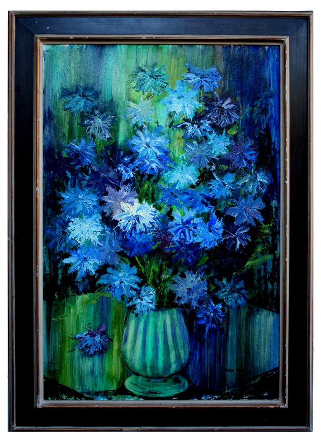 Blue Bouquet by Joseph Feuerborn