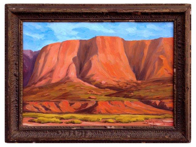 Utah Bluffs by Michael Wright