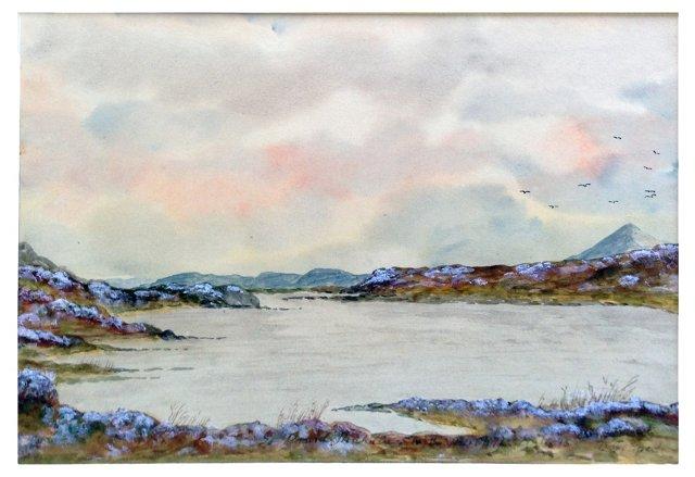 Scottish Lake by M.G. Faed