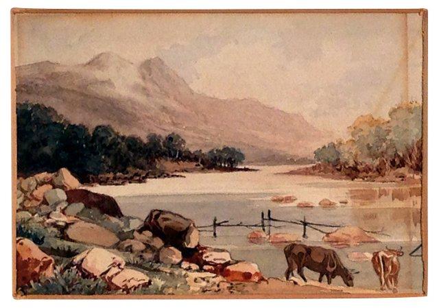Mt. Tamalpais w/ Cows & Stream