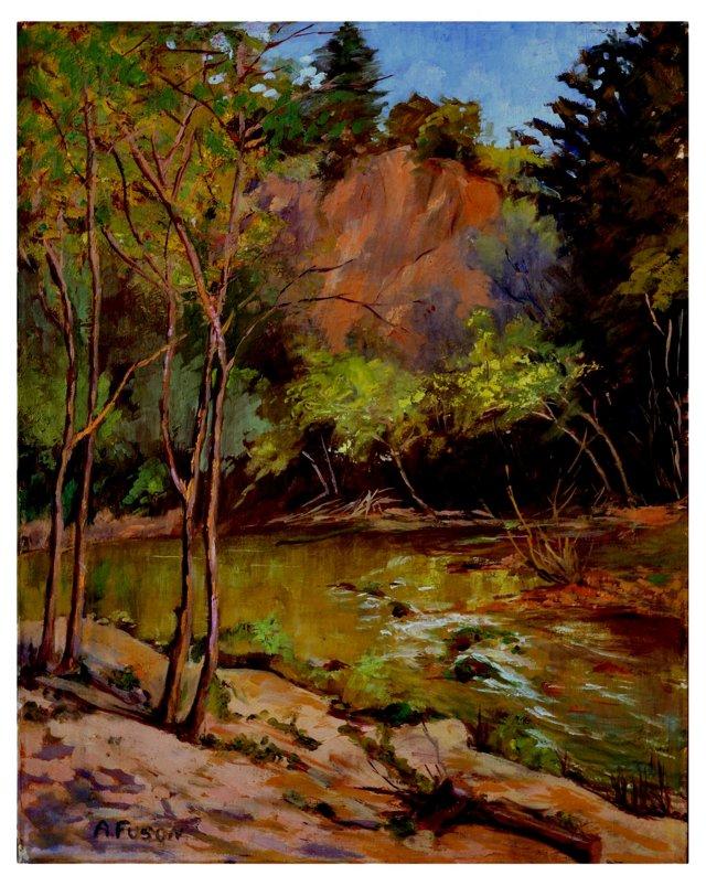 1960s Forest Landscape