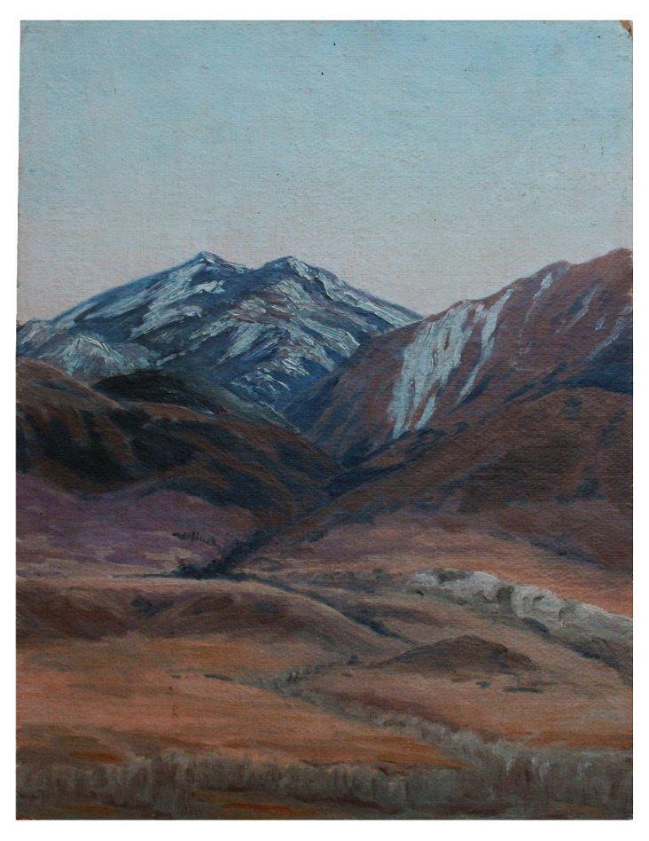 California Mountain Range