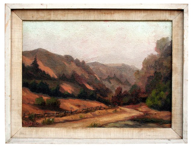 California Country Road by G. C. Gregg