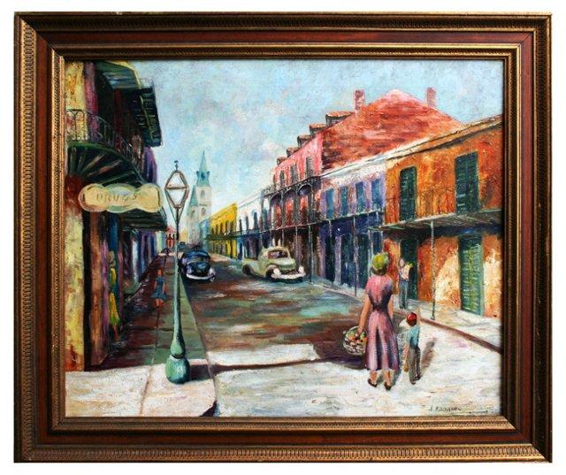 Bourbon Street by Joseph Kadanec