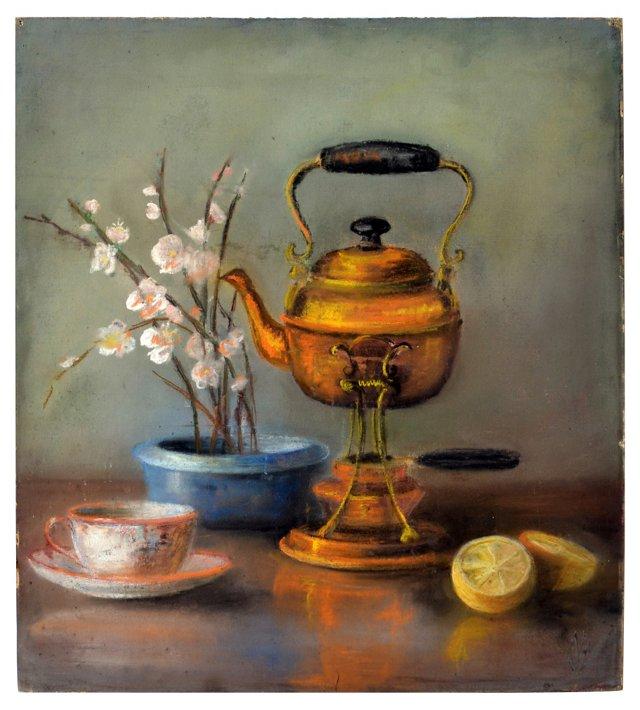 Tea Time by Calthea Campbell Vivian