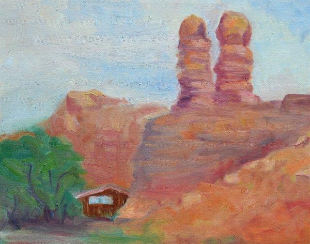 Desert Rocks in Monument Valley