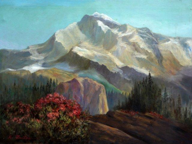 Mountaintops by Ralph Joosten