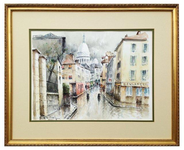 Montmartre by Stephane Wrobel