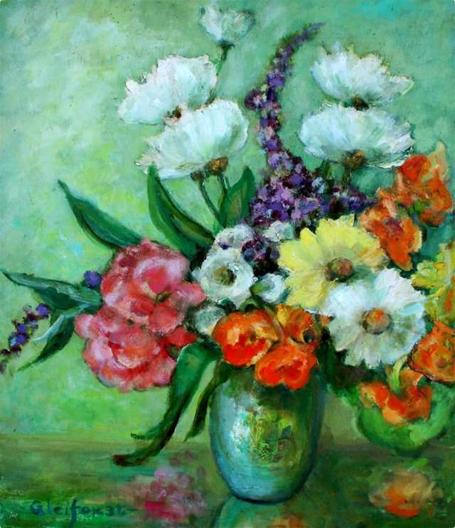 Summer Flowers by Helen Gleiforst