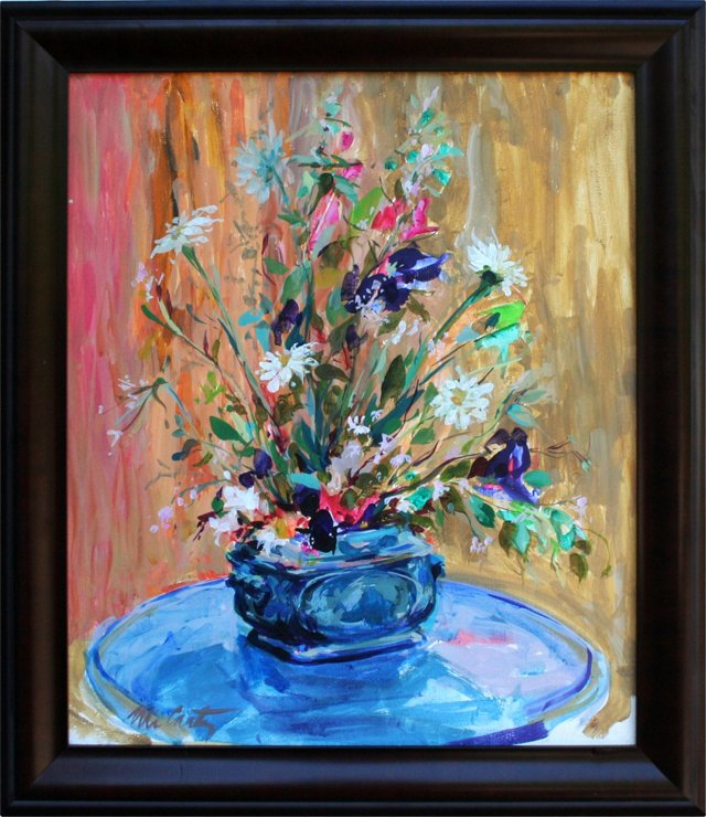Vase of Flowers by McCarty