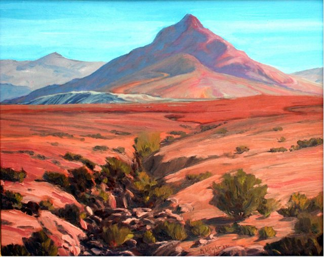 Utah Red Mountains by Michael Wright