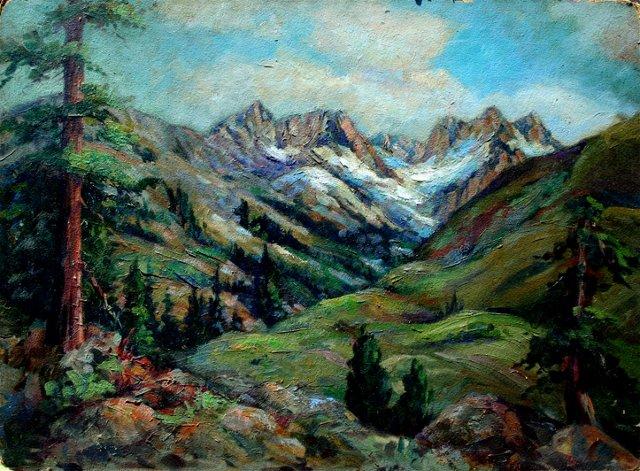 Mountain Peaks by Helen Gleiforst