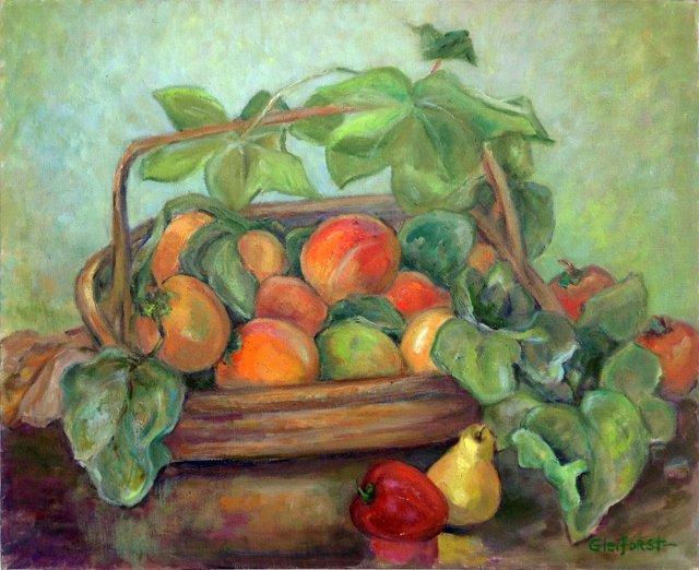 Basket of Fruit by Helen Gleiforst