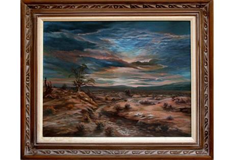 Md Century Desert Sunset