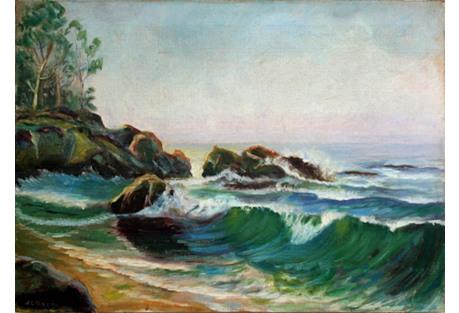 1940s Carmel Coastline