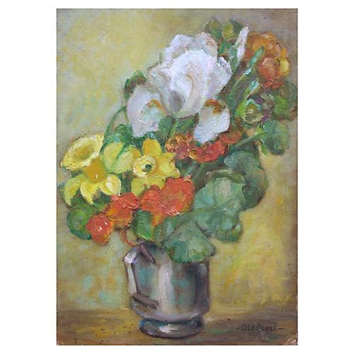 Spring Floral Bouquet by Helen Gleiforst