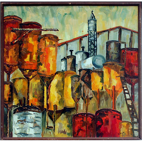 Industry Abstract by Cresanna Millegan