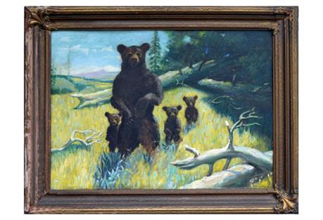 19th-C. Bear Family