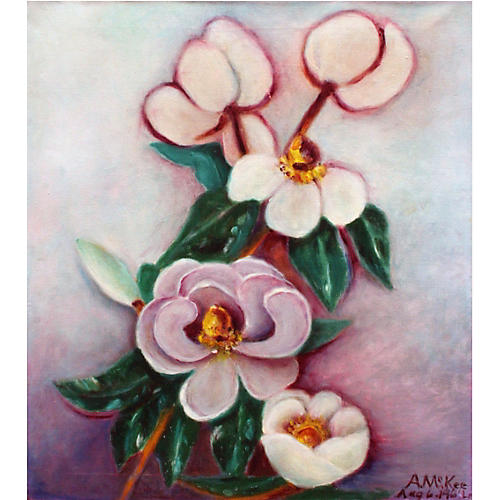 Saucer Magnolias by McKee
