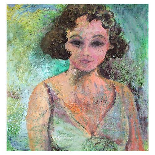 Self Portrait by Sandra LoBue