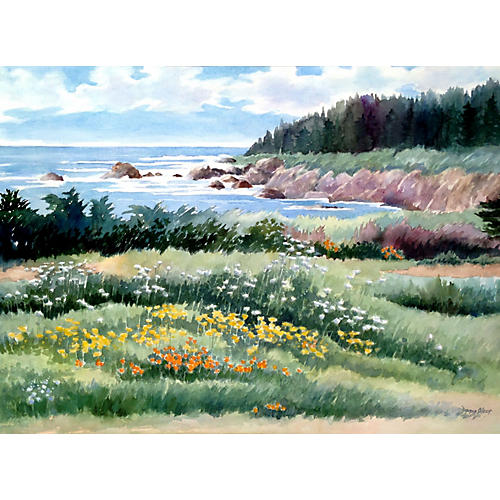 Summer Cove by Doris Olsen
