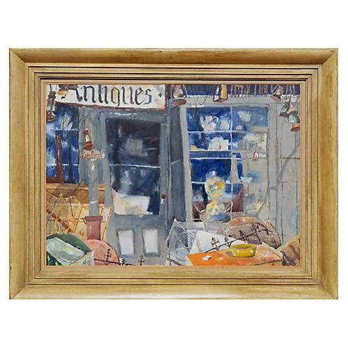 Antique Store by Ross Jones