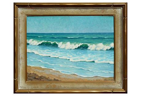Ocean Scene Joseph Mason Reeves