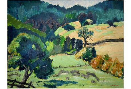 Sonoma Autumn by Leonora Thompson