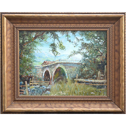 Putah Creek Bridge by B. Bales Hoffman