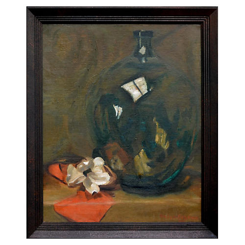 Flower & Jug Still Life by Helen Bratton