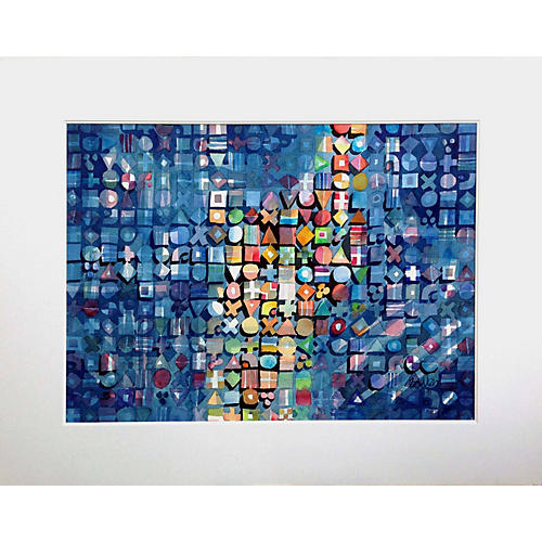 Abstract Pixels by Michael Bowen
