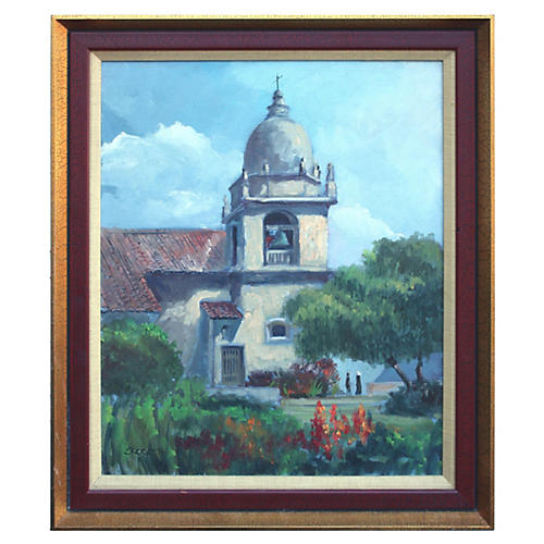 Carmel Mission by Elmer Ekeroth