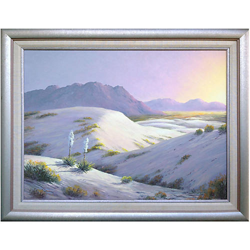 White Sands by Lucien C. Vannerson