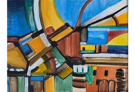 Urban Abstract by Claudia Thomas