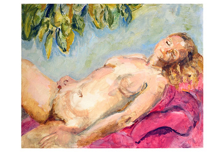 Reclining Nude, Blonde
