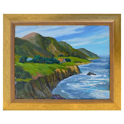 Big Sur Coastal Farm by Ray Barton