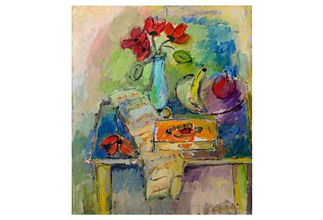 Summer Flowers & Fruit by Lydia Radda