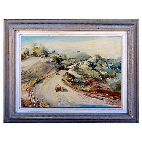 California Hills by Elizabeth Cassidy