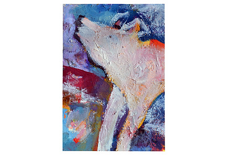 Howling Wolf by Kristin Cohen