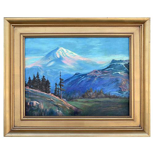 Mt. Shasta by Lorenz Griffith
