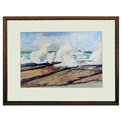 Crashing Surf by Margaret Rogers