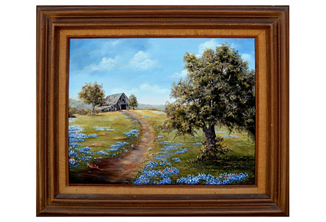 Texas Blue Bells by Mary Blanche White